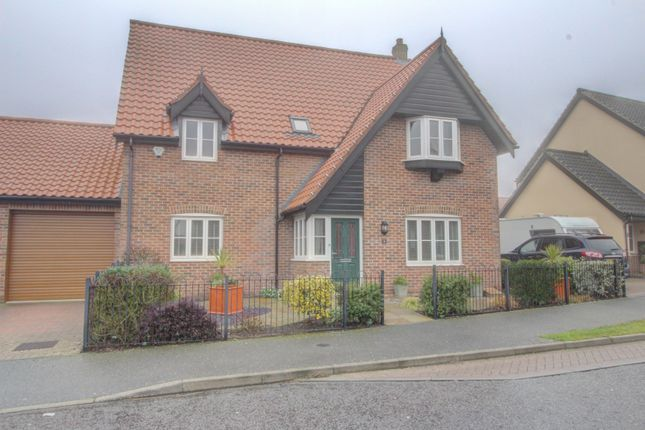 Thumbnail Detached house for sale in Victory Avenue, Bradwell, Great Yarmouth