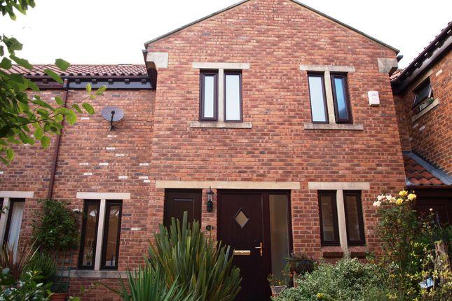 Thumbnail Terraced house for sale in Avenue House Court, Goldsborough, Knaresborough