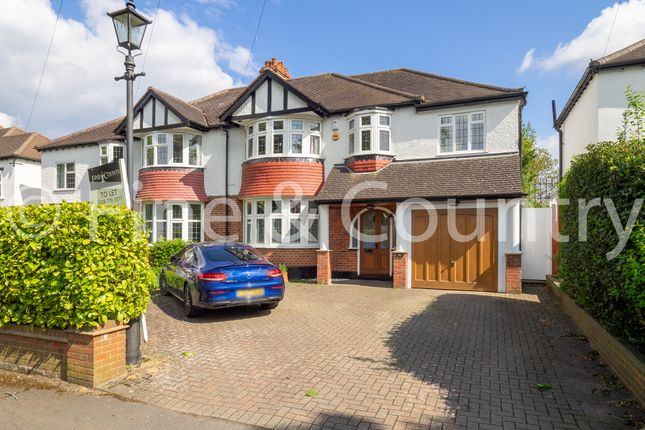 Thumbnail Semi-detached house to rent in Banstead Road South, Sutton, Epsom
