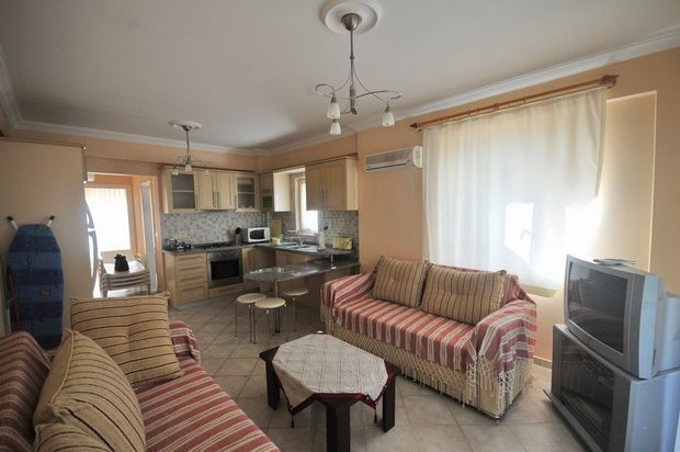 Open Plan Living of Yaniklar Holiday Village, Fethiye, Muğla, Aydın, Aegean, Turkey