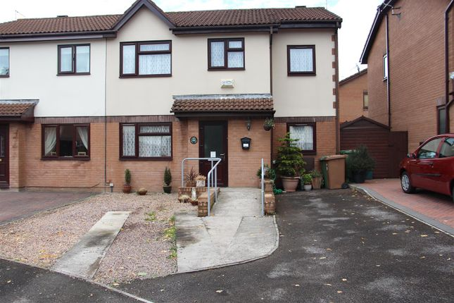Thumbnail Semi-detached house for sale in Heol Y Wern, Caerphilly