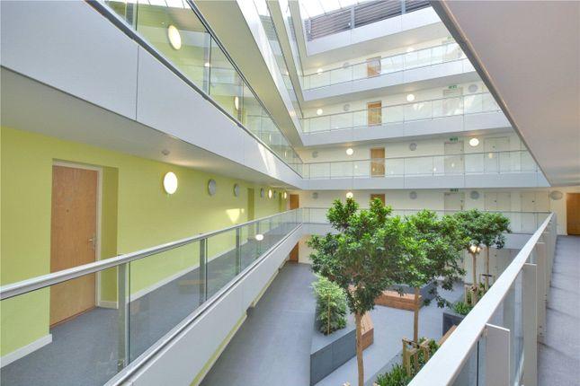 Atrium of Atrium Heights, 4 Little Thames Walk, Deptford, London SE8