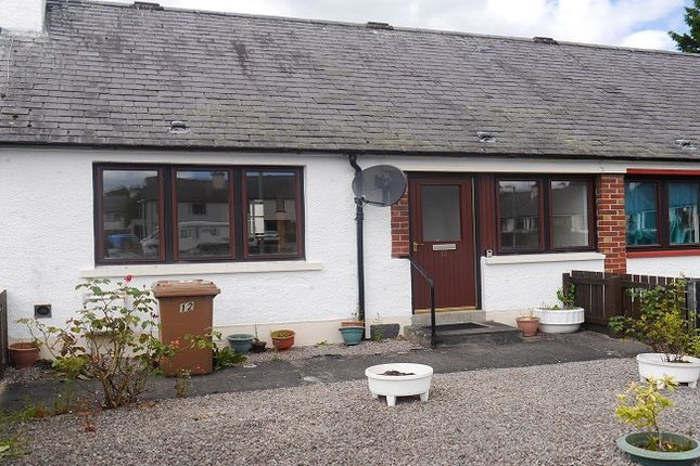Thumbnail Terraced bungalow for sale in Dewar Square, Dingwall