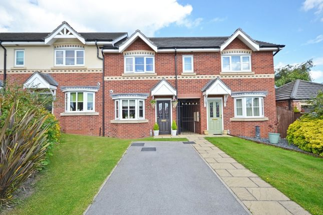 Thumbnail Town house for sale in Hanson Court, Normanton