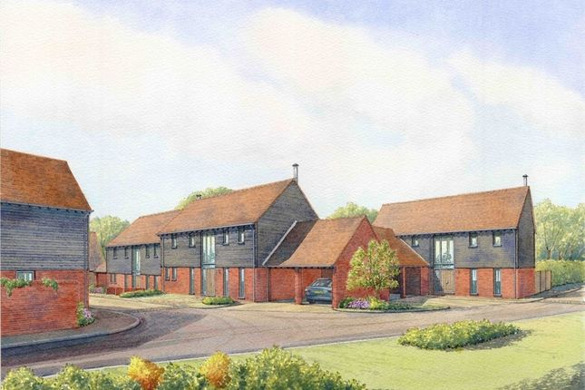 Thumbnail Semi-detached house for sale in Priory Farm Yard, Hunsdon Road, Widford, Herts