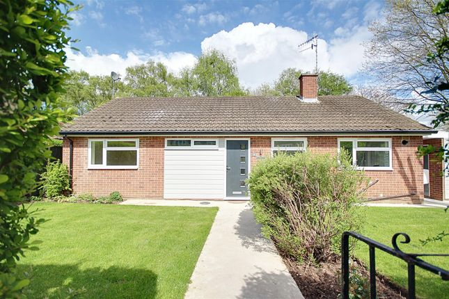 Thumbnail Detached bungalow for sale in The Lawns, Wadsworth Road, Stapleford, Nottingham