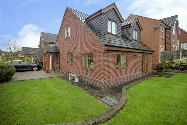 Thumbnail Detached house for sale in Barker Close, Stanley Common, Ilkeston