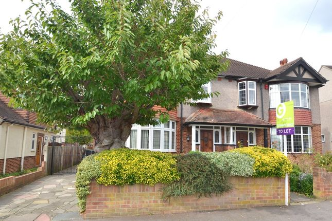 Thumbnail Semi-detached house to rent in Cromford Way, New Malden