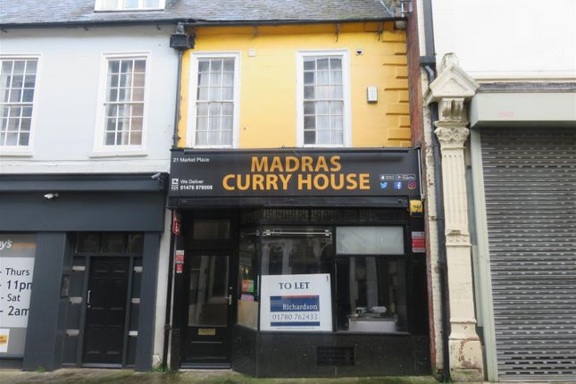 Thumbnail Retail premises to let in Butchers Row, Grantham
