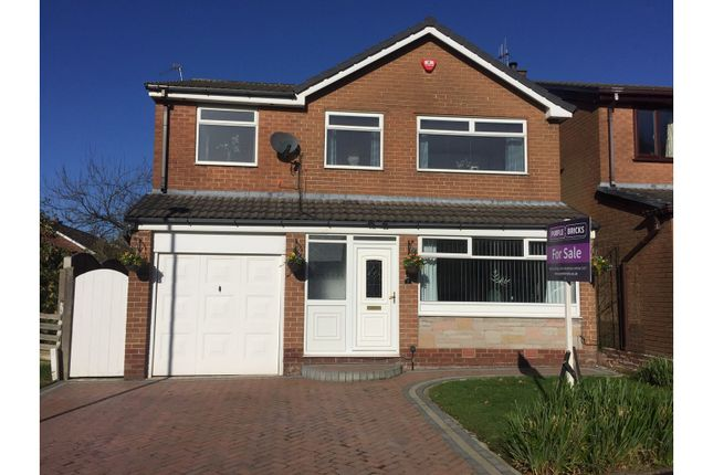 Thumbnail Detached house for sale in Evesham Grove, Ashton-Under-Lyne