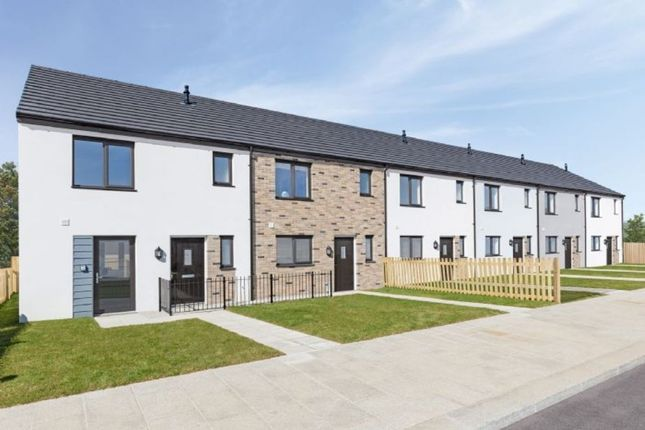 Thumbnail Semi-detached house for sale in Boslowen, Camborne