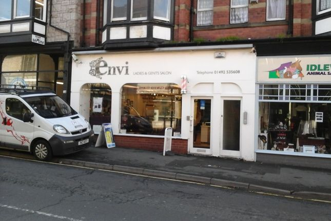 Retail premises to let in 15 Conway Rd, Colwyn Bay