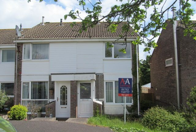 Thumbnail Terraced house to rent in Goad Avenue, Torpoint