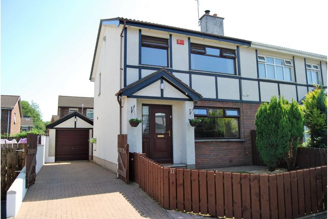 Thumbnail Semi-detached house for sale in Fountain Lane, Antrim