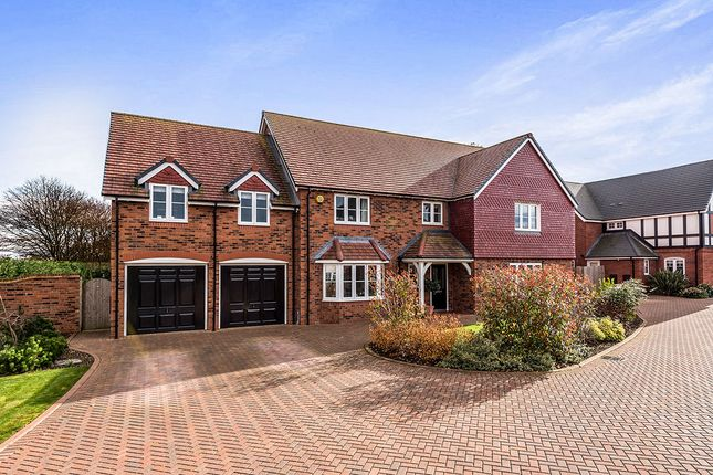 5 bed detached house for sale in Knowle House Phoenix Rise, Pipe Gate, Market Drayton