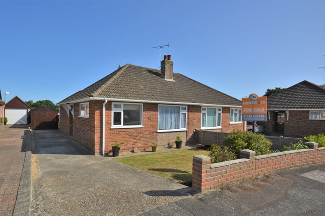 Thumbnail Semi-detached bungalow for sale in Molloy Road, Shadoxhurst, Ashford
