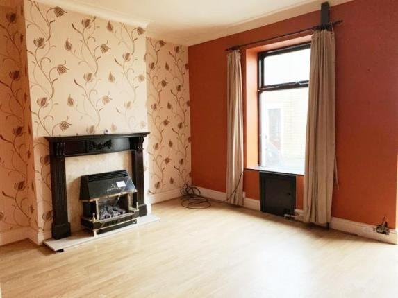Living Room of John Street, Church, Accrington, Lancashire BB5