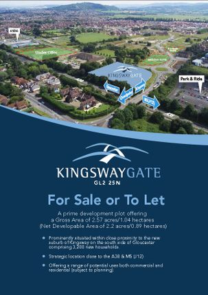 Thumbnail Business park to let in Kingsway Gate, Gloucester