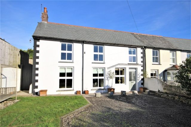 Thumbnail Semi-detached house for sale in Roughtor Road, Tregoodwell, Camelford