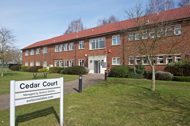 Office to let in Cedar Court, Grove Business Park, White Waltham, Maidenhead