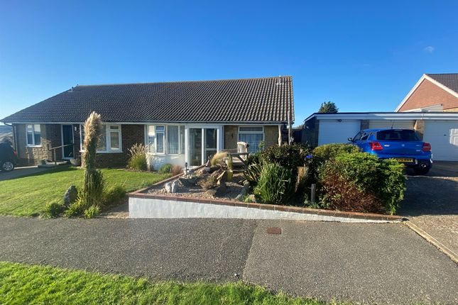 Thumbnail Semi-detached bungalow for sale in Windsor Close, Bishopstone, Seaford