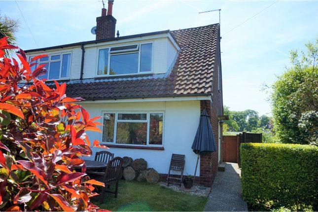 Thumbnail Semi-detached house for sale in Manor Road, Alton
