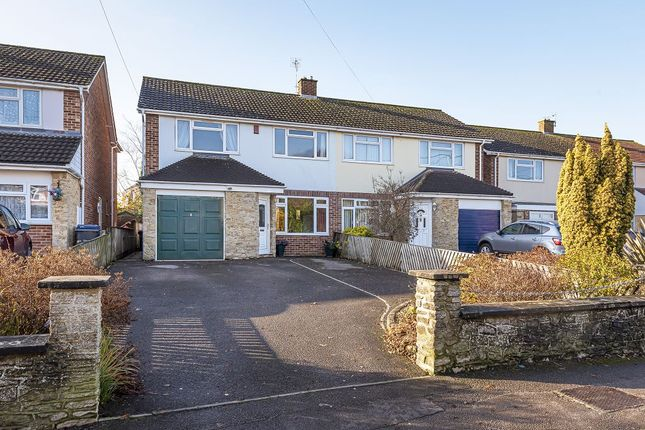 Thumbnail Semi-detached house for sale in Frogmore Road, Westbury, Wiltshire