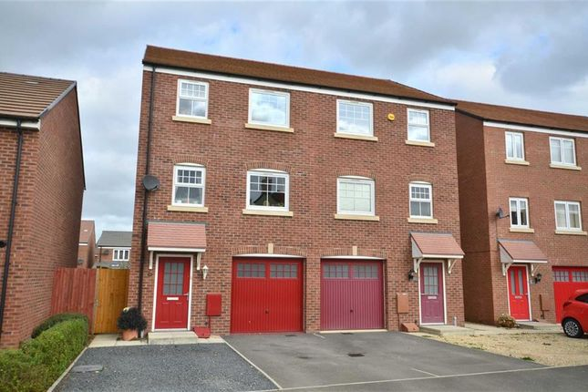 Thumbnail Town house for sale in Golden Arrow Way, Brockworth, Gloucester