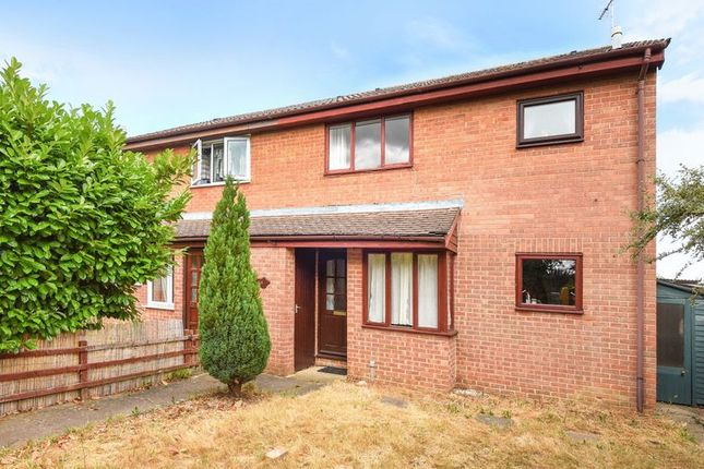 Thumbnail End terrace house for sale in Levery Close, Abingdon