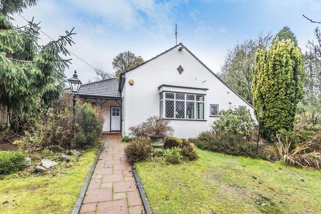 Thumbnail Detached bungalow for sale in Windlesham, Surrey