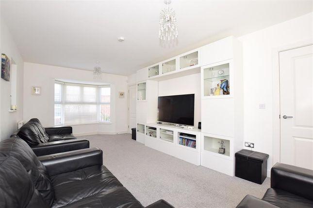 Thumbnail Semi-detached house for sale in Waterloo Walk, Kings Hill, West Malling, Kent