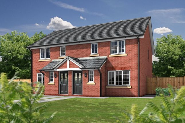 Thumbnail Semi-detached house for sale in The Paddocks, Sandy Lane, Higher Bartle, Preston