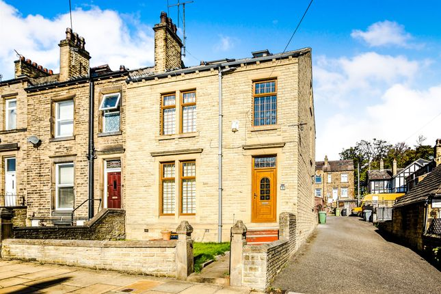 Thumbnail End terrace house for sale in Macaulay Road, Birkby, Huddersfield