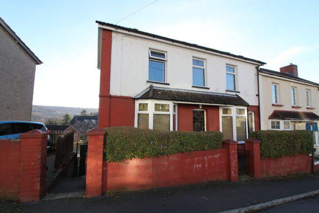 Thumbnail End terrace house for sale in Windsor Avenue, Newbridge, Newport