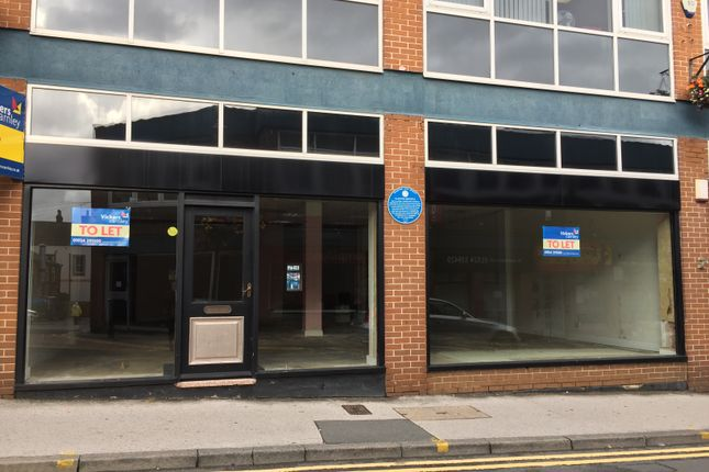 Thumbnail Retail premises to let in Cross Street, Wakefield