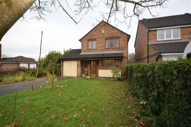 Thumbnail Detached house for sale in Brackenbury Close, Lostock Hall, Preston, Lancashire