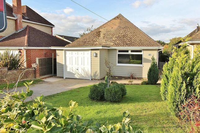 Thumbnail Detached bungalow for sale in Park Road, Purbrook, Waterlooville