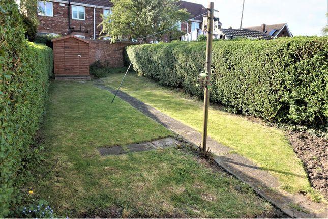Rear Garden of Yarborough Road, Grimsby DN34