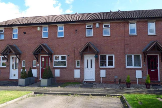 Thumbnail Terraced house for sale in Tidbury Close, Walkwood, Redditch