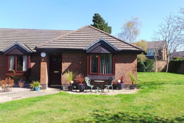 Thumbnail 1 bed semi-detached bungalow for sale in Lonsdale Mews, Croston Road, Lostock Hall, Preston