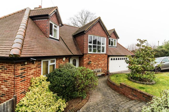 Thumbnail Detached house for sale in Beech Road, Purley On Thames Reading
