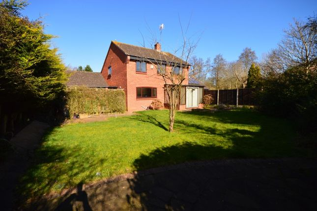 Thumbnail Detached house to rent in Wye Close, Droitwich