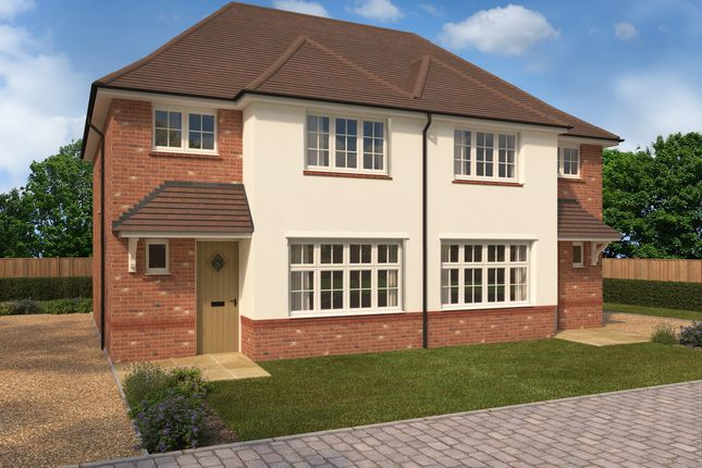 Thumbnail Semi-detached house for sale in The Brambles, Ongar Road, Dunmow, Essex