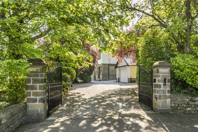 Gated Entrance of Bradford Road, Burley In Wharfedale, Ilkley, West Yorkshire LS29