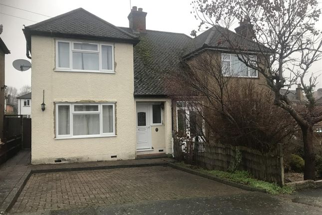 3 bed semi-detached house for sale in Beechcroft Avenue, Croxley Green, Rickmansworth WD3