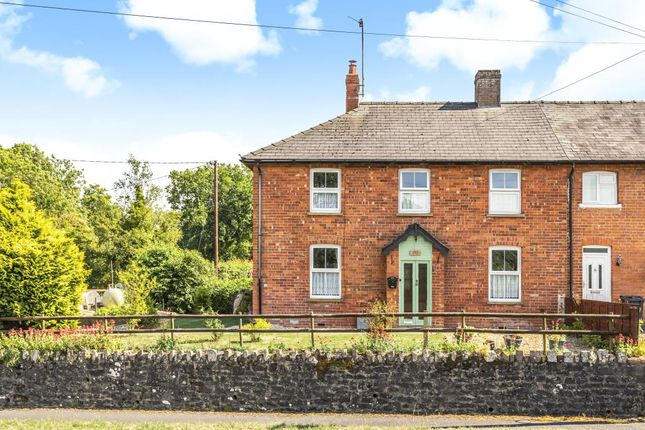 Thumbnail End terrace house for sale in Garth, Builth Wells