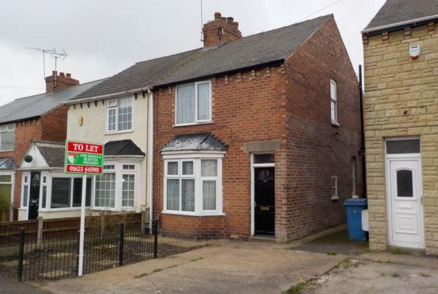 Thumbnail Semi-detached house to rent in Stainforth Street, Mansfield Woodhouse, Mansfield
