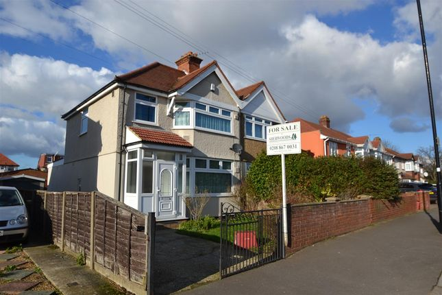 Thumbnail Semi-detached house for sale in Hatton Road, Bedfont, Feltham