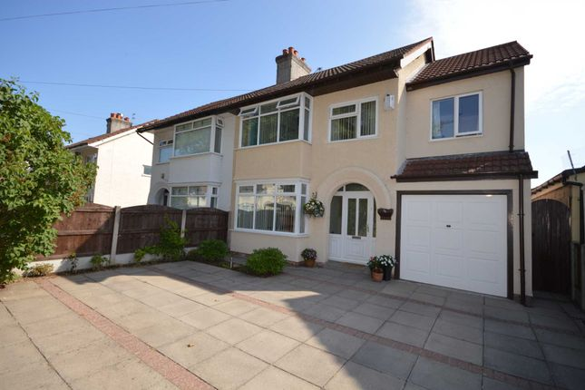 Thumbnail Semi-detached house for sale in Raeburn Avenue, Eastham, Wirral