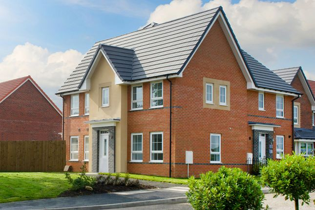 """Thumbnail Semi-detached house for sale in """"Morpeth 2"""" at Fen Street, Brooklands, Milton Keynes"""